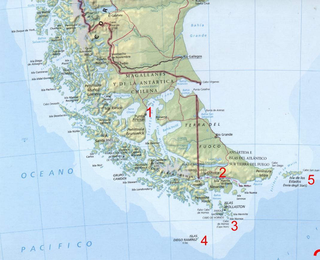 Capo Horn Cartina.Forum Di Filatelia Pagina 50b