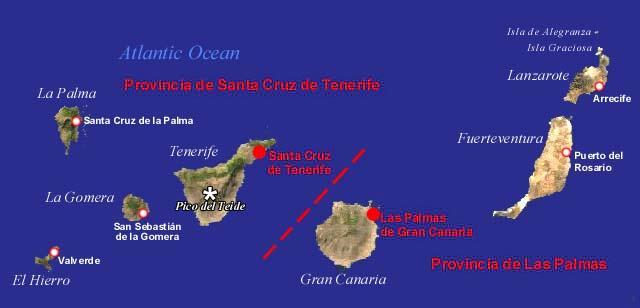 Cartina Delle Canarie.Forum Di Filatelia Pagina 107