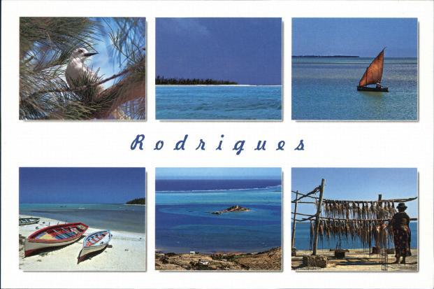 560 km a est di mauritius c'è l'isola di rodrigues, che ora ha un