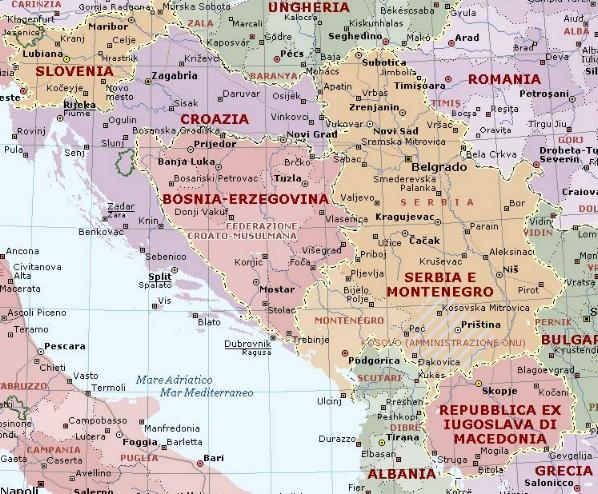 Cartina Muta Della Croazia.Forum Di Filatelia Pagina 135